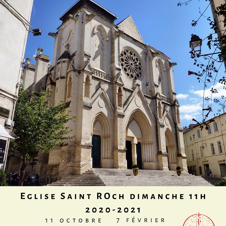 Messe pour la cité Eglise Saint Roch 2020-2021
