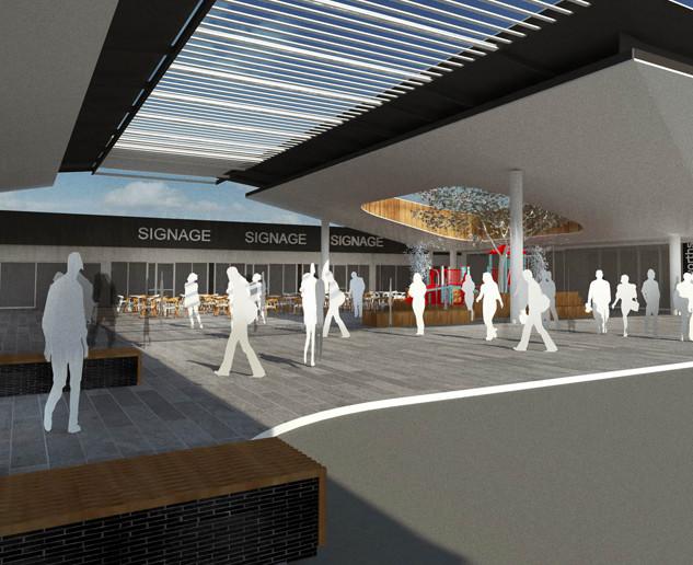 Re-development of Park n Shop, Meadowridge