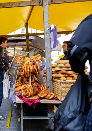 Vielfältiges Angebot, Münstergassmärit
