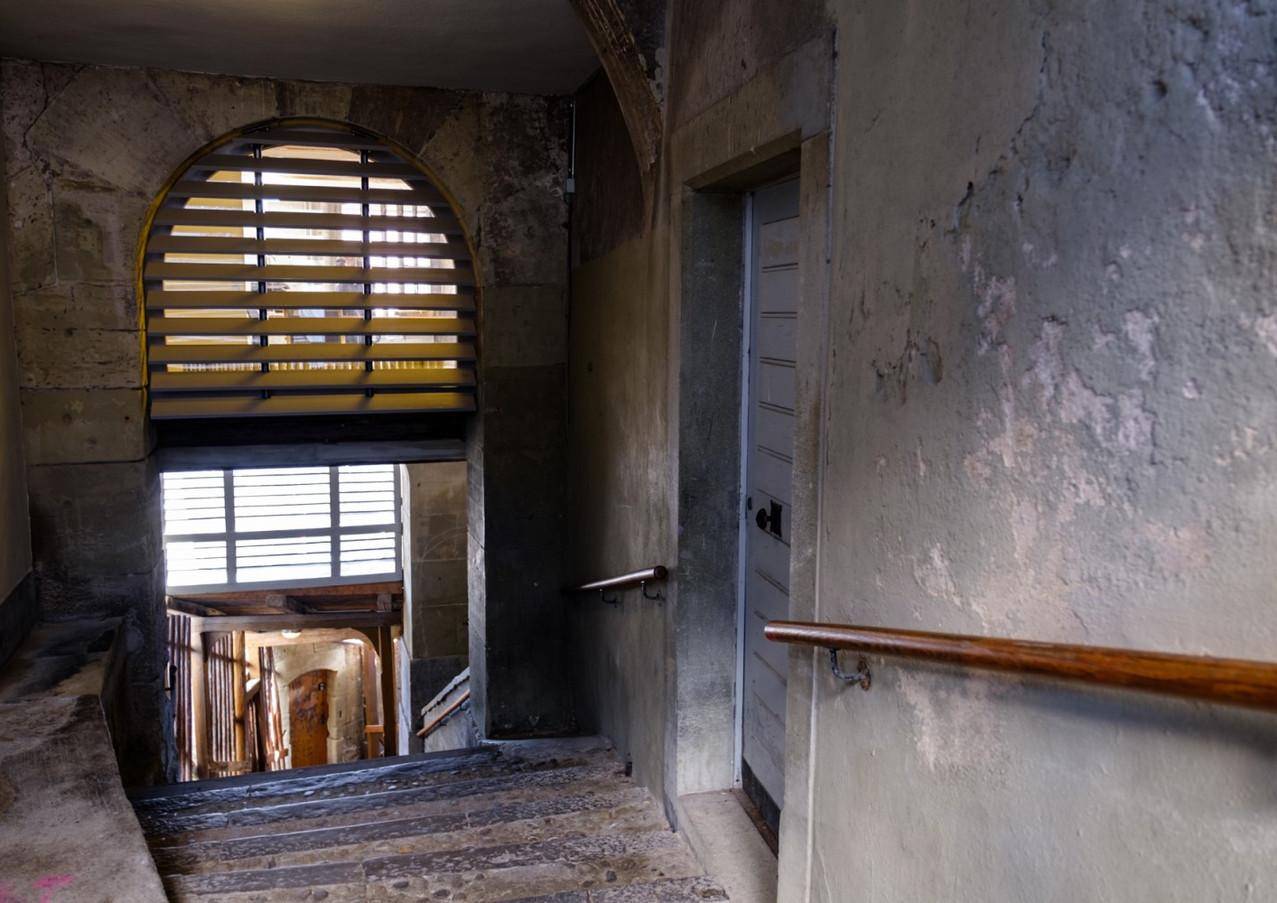 Abgang von der Herrengasse in das Mattenquartier