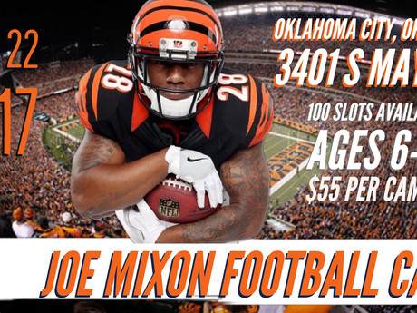 Joe Mixon Football Camp: OKC, OK