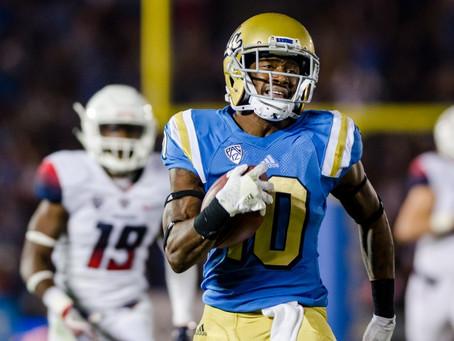 Kenny Walker, UCLA WR, clocks 4.29 40 in Pro Day