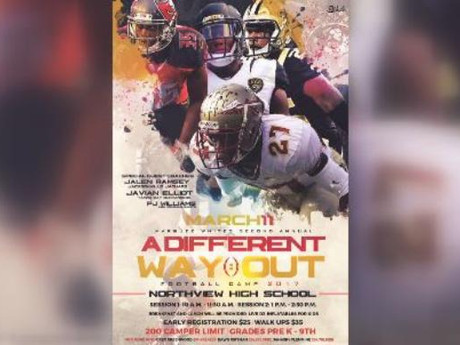 """Marquez White's 2nd Annual """"A Different Way Out Camp"""" set for March 11"""