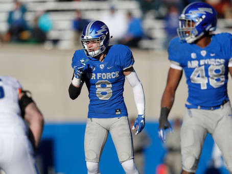 """Air Force safety Weston Steelhammer """"shocked"""" by policy change before NFL draft"""
