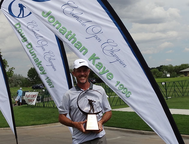 Jonathan Kaye Wins 2nd Co Open 21 Years After His First