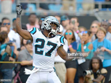 Adams plays key role in Panthers' win over Falcons