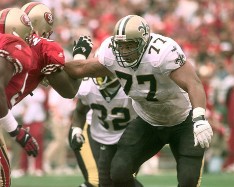 Willie Roaf #2 on Saints List of All Time Greats