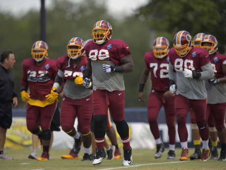 Finally healthy, nose tackle Phil Taylor positioned to land starting job with the Redskins