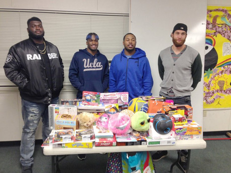 Stacy McGee Joins East Palo Alto Toy Drive