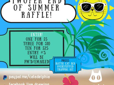 Enter the Twofer End of Summer Raffle!