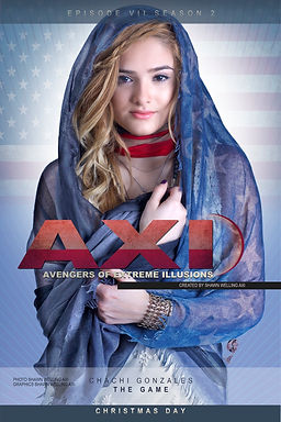 CHACHI 1 poster 2 AXI THE GAME  v3 flatt