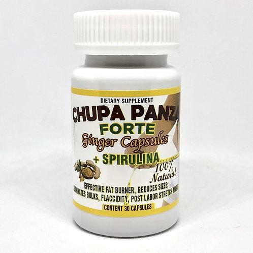 Chupa Panza 100% Natural Capsulas de Jengibre, Elimina Tallas!