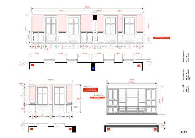 STUDIO BUILD DRAWINGS // HERRENS VEJE