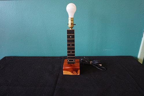 Guitar neck lamp