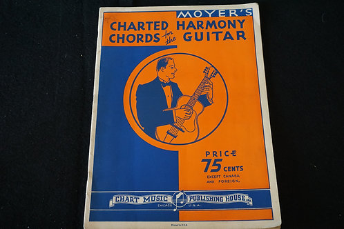 Moyer's Charted Harmony Chords for the Guitar