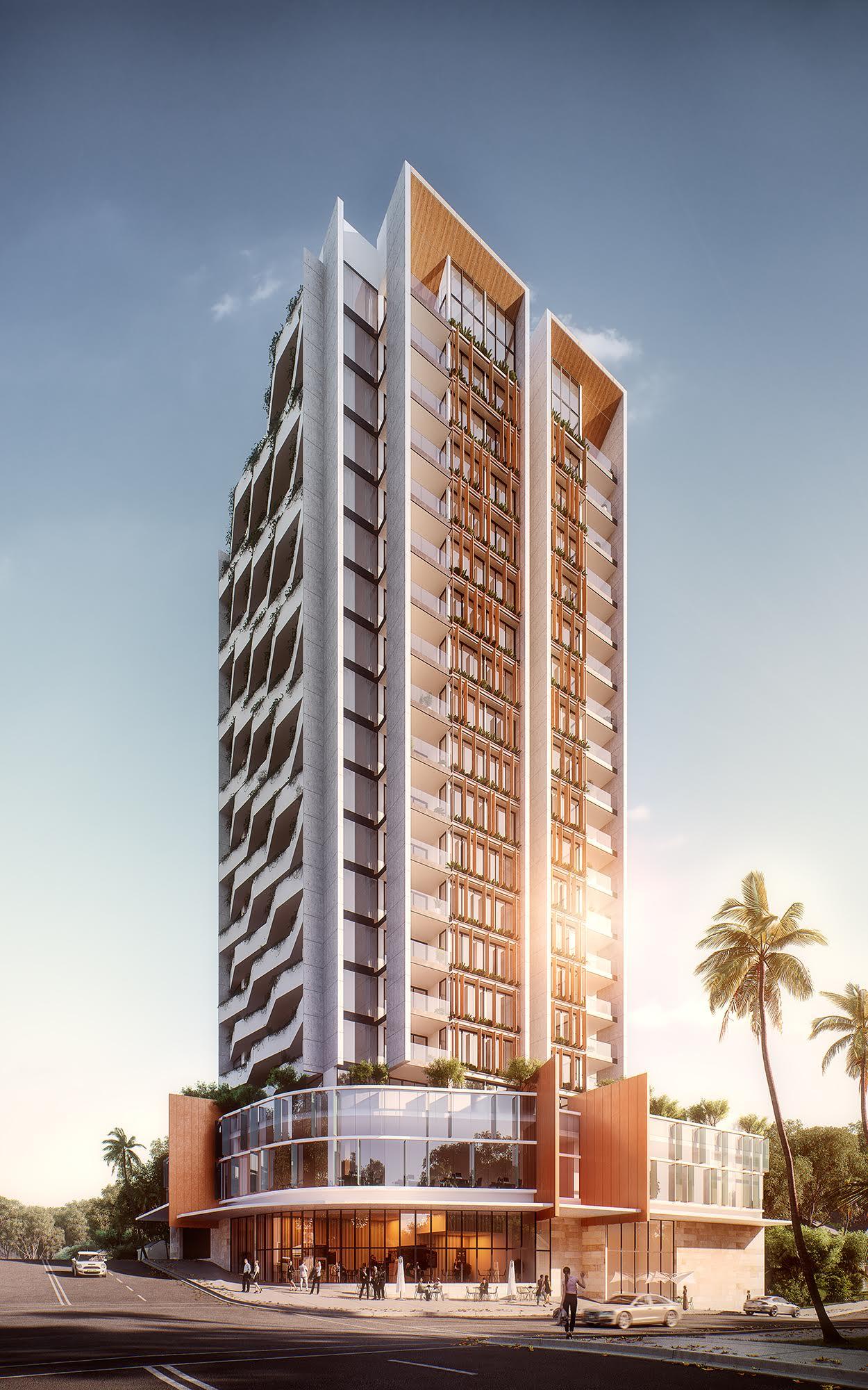 市中心住宅与商业一体化的高层开发项目