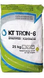 КТтрон-6 штукатурная гидроизоляция