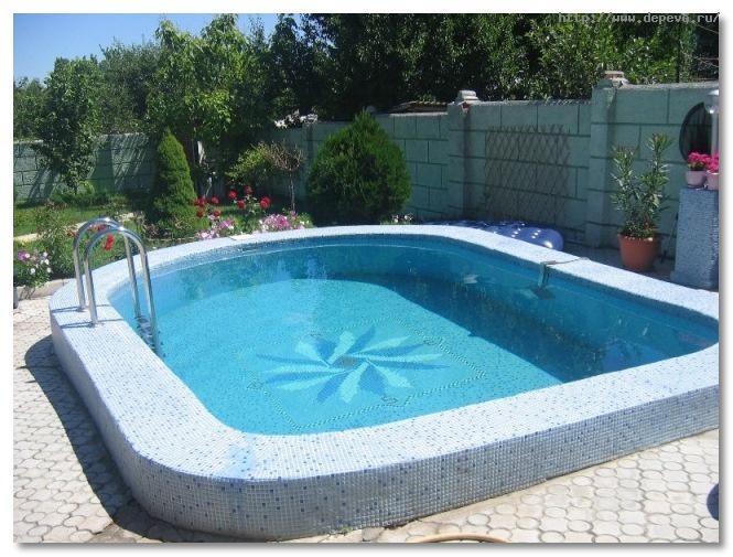 Гидроизоляция бассейна в коттедже