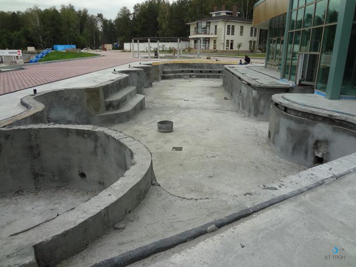 гидроизоляция бассейна в гостинице