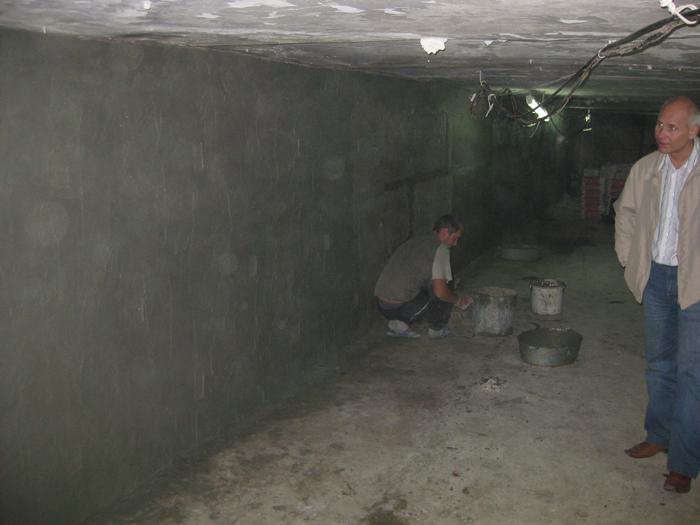 Подвал после обработки гидроизоляционными составами (5)