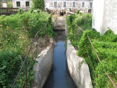 Канал песколовки БОС до ремонта