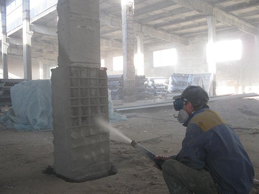 Восстановление колонн опоры