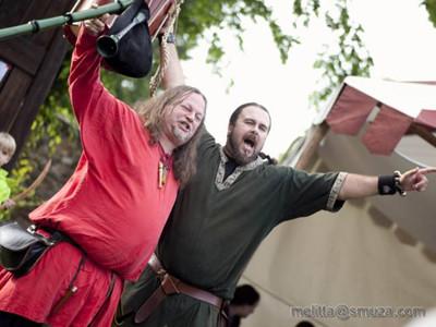 Arnulf & Tom@ Burg Lockenhaus
