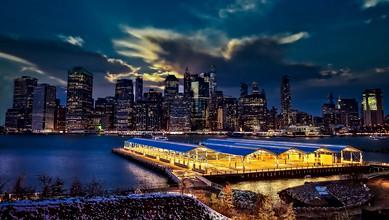 Manhattan, New York Skyline