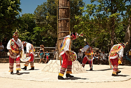 Flying Mayan Indians