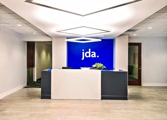 JDA Headquarters 4th Floor Reception Area