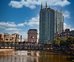 Atlantic Station View Atlanta GA