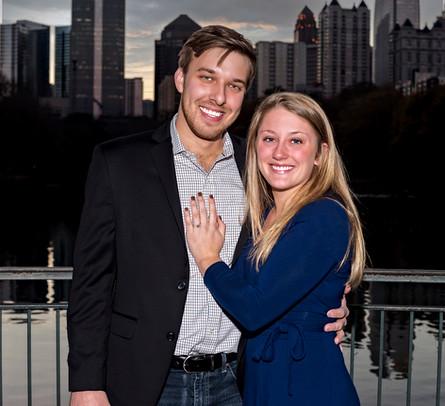Ryan & Abby Mitchell Engagement Photo