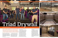 Triad Drywall Wall & Ceiling Article Spread copy