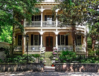 Victorian House Savannah GA