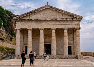 Saint George Church Old Fortess Corfu