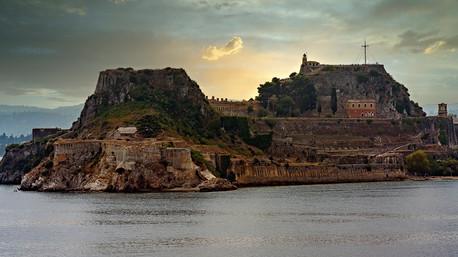 Island of Cortfu Greece