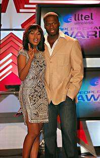 Keri Washington & 50 Cent
