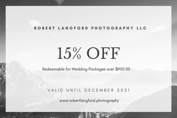 Copy of Wedding Photography Gift Certifi