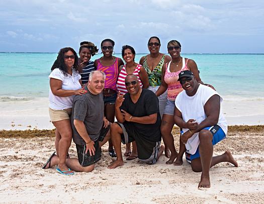 The Kemp, Miller, Langford & Vezzuto Family Beach Portrait