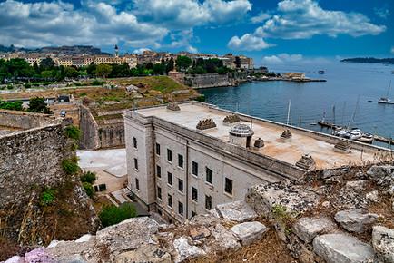 Old Town Fortress Corfu Greece