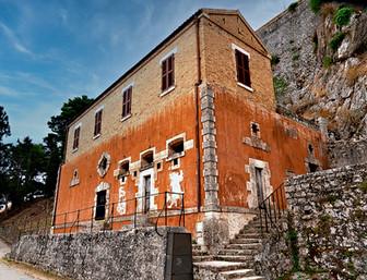 Old Fortress Corfu Town Greece