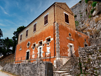 Old Fortress Corfu Town Greece