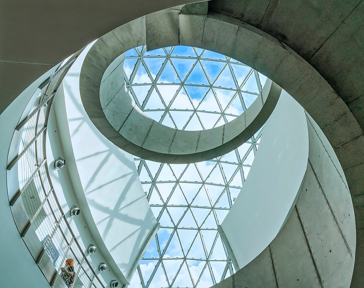 Dali Salvador Museum Ceiling