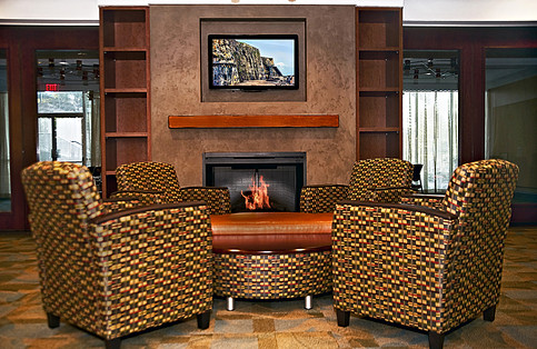 Cosby Spear Lounge Area