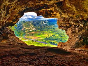 Cueva Ventana Window Cave, Arecibo Puerto Rico