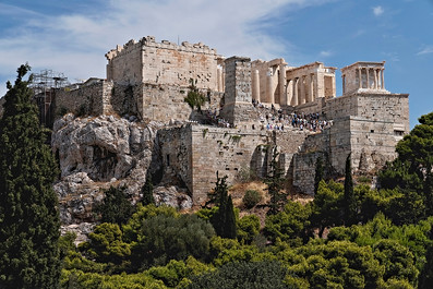 Acroplis of Athens Greece