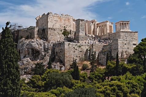 Acroplis of Athens Greece