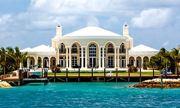 Waterfront Mansion Bahamas