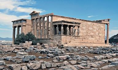 Erechtheion Acroplis of Athens Greec