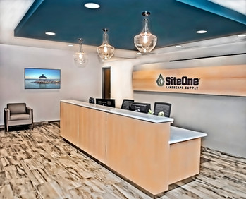 SiteOne 5th Floor Reception Area